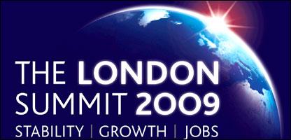 Cumbre del G-20 en Londres