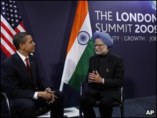 Obama and Indian PM