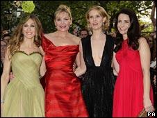 Sex and the City stars Sarah Jessica Parker, Kim Cattrall, Cynthia Nixon and Kristin Davis
