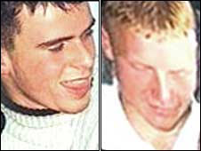 David McIlwaine and Andrew Robb were killed in February 2000