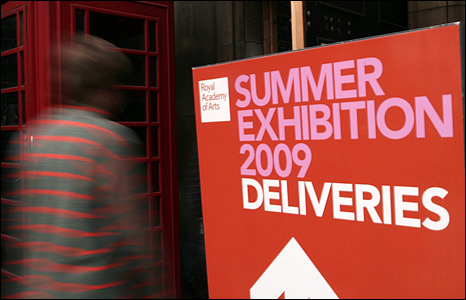Royal Academy Summer Exhibition Photographs: Caroline Briggs/BBC
