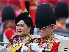 Thailand's King Bhumibol Adulyadej and Queen Sirikit, 2005