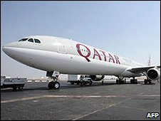 Qatar Airways plane (Photo: ARIM JAAFAR/AFP/Getty Images)