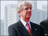 El  presidente uruguayo, Tabar� V�zquez