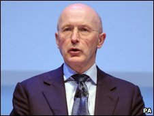 RBS chairman Sir Philip Hampton addresses the AGM