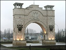 Triumphal arch in Trans-Dniester