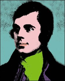 Portrait of Robert Burns (Pic from Sheilagh Tennant)