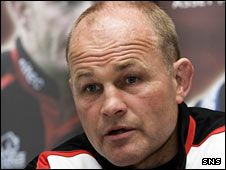 Edinburgh coach Andy Robinson