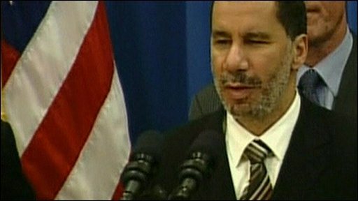 New York state governor David Paterson