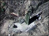 Imagen satelital de la base de Hwadae, en Corea del Norte