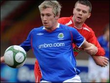 Mark McAllister and Ciaran Donaghy