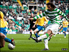 Georgios Samaras fires in his second goal