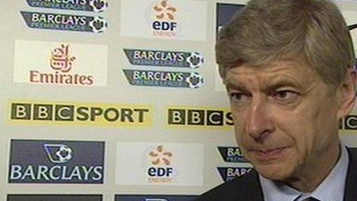 Arsenal manager Arsenal Wenger