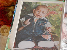 Photo of Mohammad Abdel-Aal, Gaza baby who died from heart problems