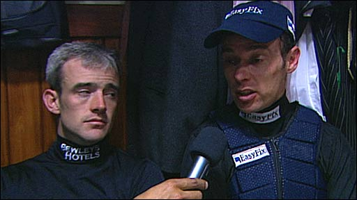 Ruby Walsh and Timmy Murphy