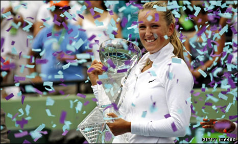 Belarusian Teen Wins Sony Ericsson Open in Florida. Congrats to Vika Azarenka!