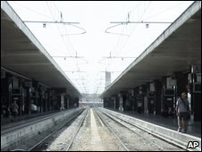 Rome's Termini central railway station, archive image