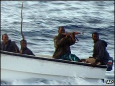 Somali pirates (archive image)