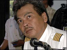Capt Marwoto Komar in court (February 2009)
