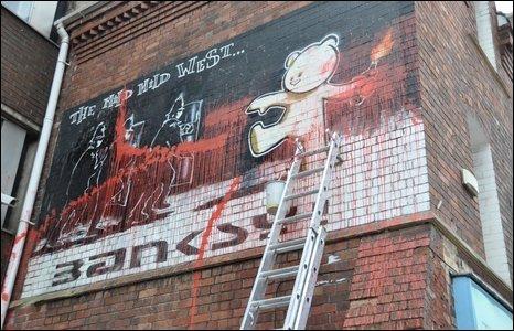 Banksy's Mild Mild West
