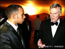 Lewis Hamilton and Max Mosley