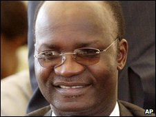 File pic of Jonathan Moyo