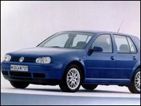 VW Golf 1997 года выпуска (фото PA)