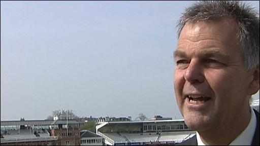 ECB national selector Geoff Miller