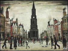 Berwick-upon-Tweed by Lowry