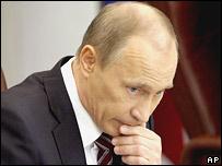 Владимир Путин в Госдуме 6 апреля