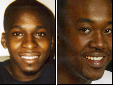 Victims Tyrone Gilbert (left) and Ucal Chin