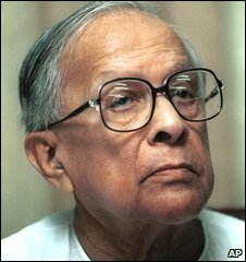 Former chief minister Jyoti Basu