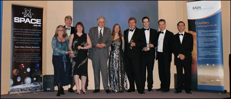 Winners at the Sir Arthur C Clarke awards