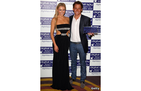 Zoe Salmon and Joe Swash