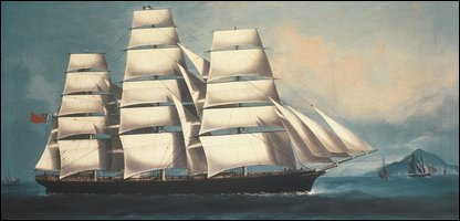 Cutty Sark by an unknown artist
