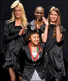 Models wearing Sakina M'Sa