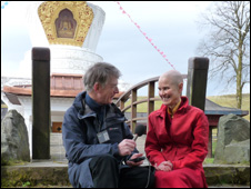 Ani Lhamo at Samye Ling Buddhist monastery