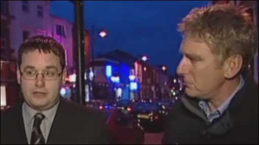 Tony Allen, Oldham trading standards and BBC reporter Stuart Flinders