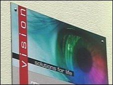 Vision UK sign