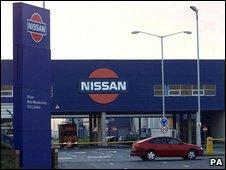 Nissan factory in Sunderland