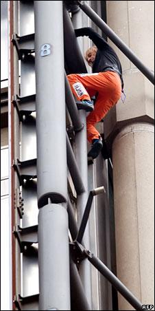 Climbing building