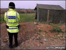 Police guard scene of attack in Edlington, South Yorkshire