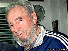 Fidel Castro (archive picture)