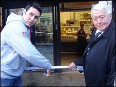 Stephen Jone and Hugh Richards