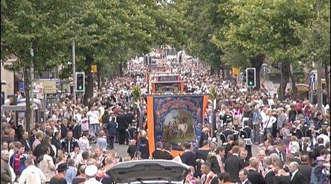 Twelfth parade