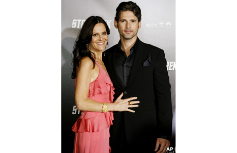 Eric Bana and wife Rebecca