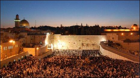 Sunrise in Jerusalem