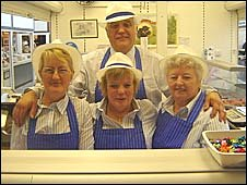 Staff at Richard's Cooked Meats