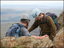 Climbers (picture:- Peter Macmillen)
