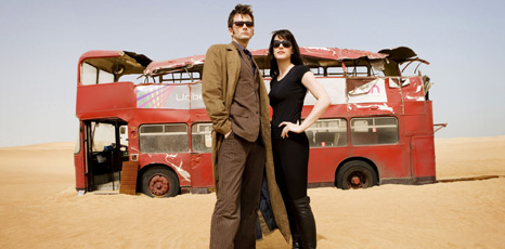 David Tennant and Michelle Ryan
